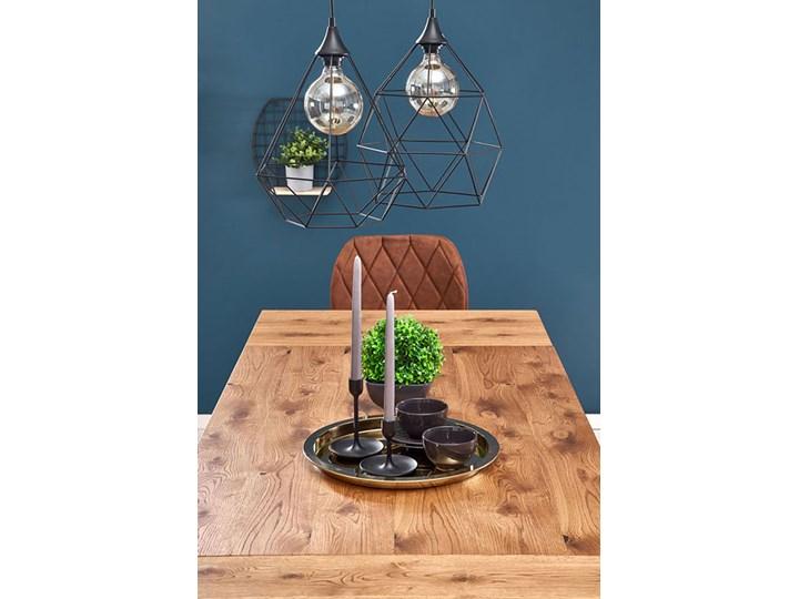 Dębowy stół w stylu loftowym Marco Drewno Wysokość 76 cm Szerokość 80 cm Rozkładanie Długość 126 cm Styl Minimalistyczny