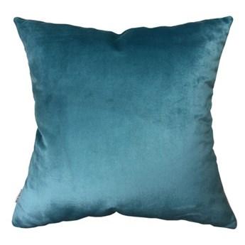 Welurowa poduszka Turquoise 45 x 45 cm