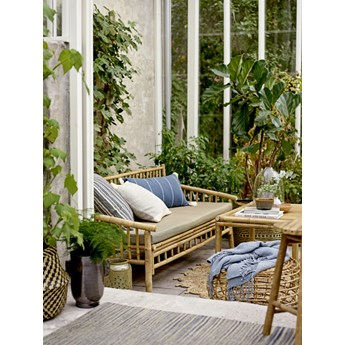 Sofa ogrodowa tarasowa Bamboo Sole naturalny bambus