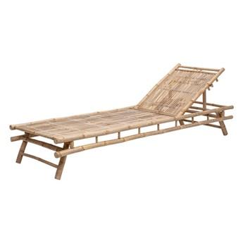 Leżak bambusowy Sole naturalny bambus