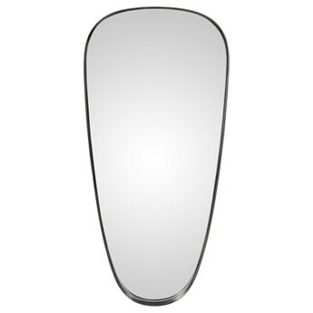 Lustro Daly 92x43 cm w srebrnej ramie 92 x 43 x 4 cm srebrny metal