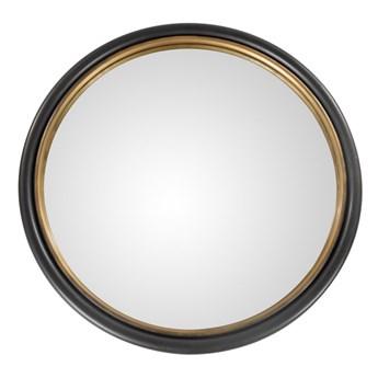 Lustro okrągłe Thor 50cm 50 cm złoty metal