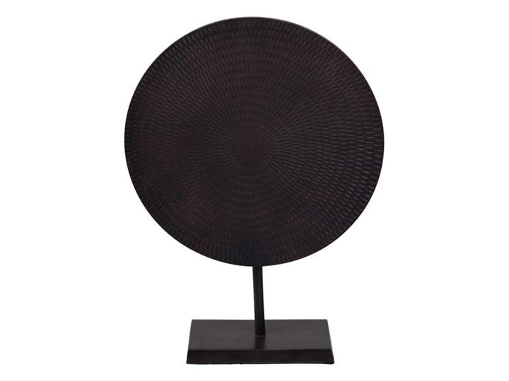 Dekoracja Moon 36,5 x 11 x 49 cm czarny aluminium