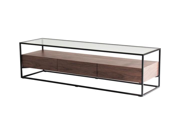 Szafka rtv Helix 150 x 40 x 40 cm brązowy metal