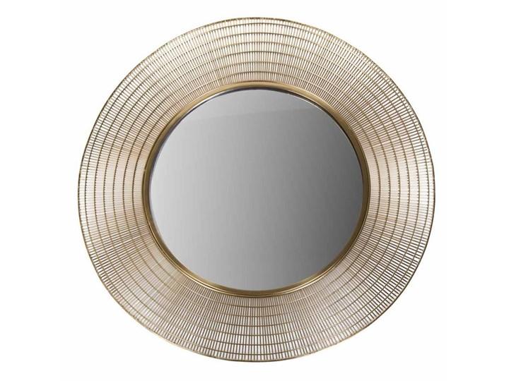 Lustro Miroir Gold 96cm 96 x 7 cm złoty metal Okrągłe Okrągłe