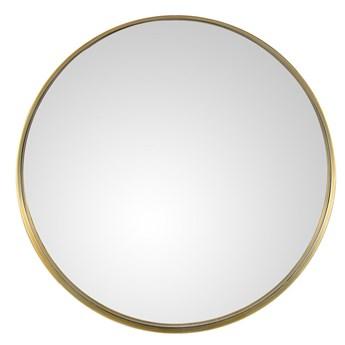 Lustro Alice 92cm w złotej ramie 90 x 4 cm złoty metal