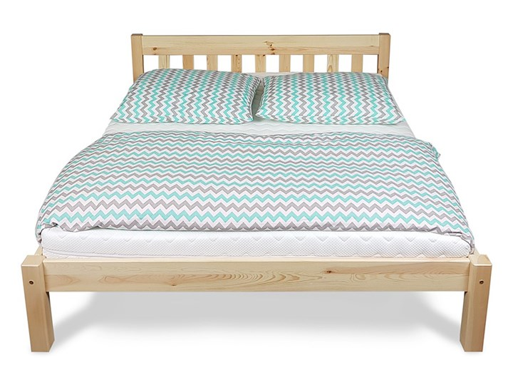 Łóżko Pino Sosnowe Kategoria Łóżka do sypialni Łóżko drewniane Kolor Beżowy
