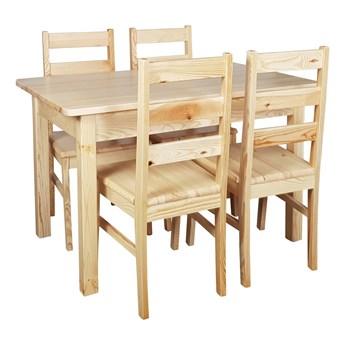 Stół Sosnowy Rozciągany 75x120/168x75