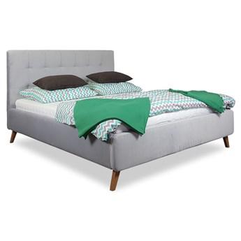 Łóżko MALMO Tapicerowane welur