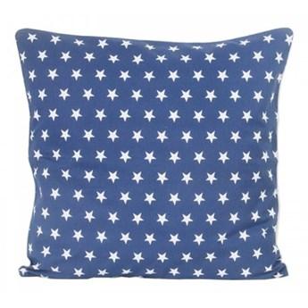 Poszewka dekoracyjna - Gwiazdy na granatowym tle