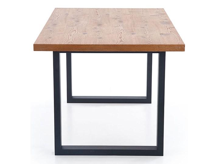 Duży rozkładany stół industrialny Marco 2X Długość 90 cm  Drewno Rozkładanie Rozkładane Wysokość 76 cm Szerokość 90 cm Styl Minimalistyczny