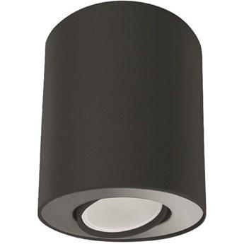 Spot sufitowy tuba SET czarny/srebrny śr. 10cm