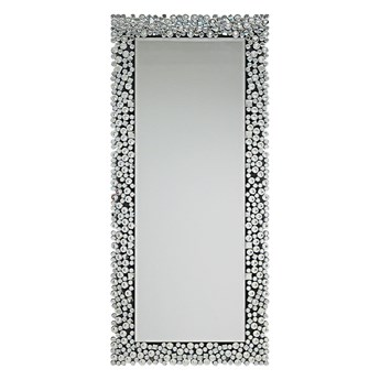 Lustro w ramie z kryształków 16JZ03 80 x 180 cm