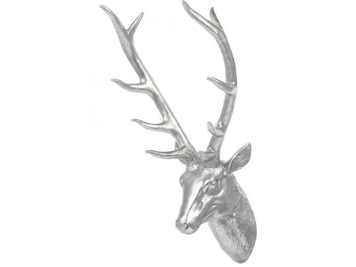 Figurka ścienna srebrna 67 cm DEER HEAD kod: 4251682217378