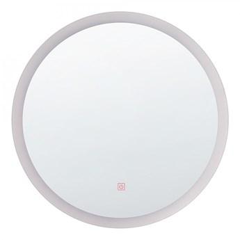 Lustro ścienne LED ø 58 cm srebrne YSER kod: 4251682216180