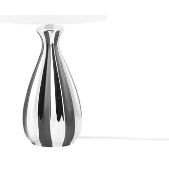 Lampa stołowa srebrna 52 cm VARDJA kod: 4260624111292