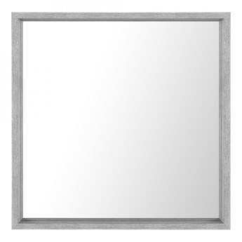 Lustro ścienne 50 x 50 cm szare BRIGNOLES kod: 4251682223478