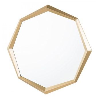 Lustro ścienne 71 x 71 cm złote AMBRYM kod: 4251682222853