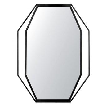 Lustro ścienne 80 x 60 cm czarne NIRE kod: 4251682216098