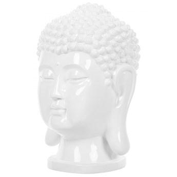 Figurka dekoracyjna biała BUDDHA kod: 4251682215466
