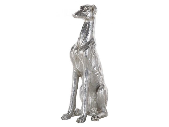 Figurka dekoracyjna srebrna 80 cm GREYHOUND kod: 4251682217514
