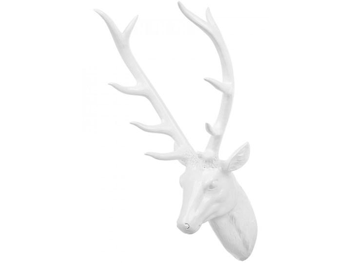 Figurka ścienna biała 67 cm DEER HEAD kod: 4251682217354