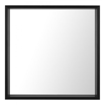 Lustro ścienne 50 x 50 cm czarne BRIGNOLES kod: 4251682223461