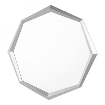Lustro ścienne 91 x 66 cm srebrne OENO kod: 4251682222983