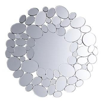Lustro ścienne srebrne ø70 cm Alessia BLmeble kod: 4260602377078