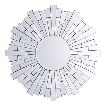 Lustro ścienne srebrne ø70 cm Limoni BLmeble kod: 4260602377122