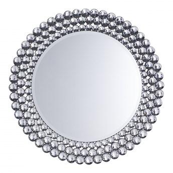 Lustro ścienne srebrne ø70 cm Peria BLmeble kod: 4260602377108
