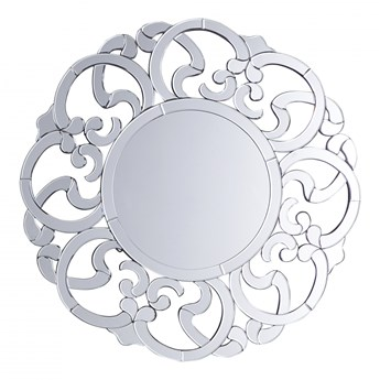 Lustro ścienne srebrne ø70 cm Speranza BLmeble kod: 4260602377139