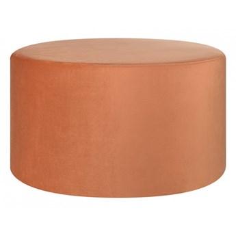 Puf okrągły ø 61 cm pomarańczowy MILLEN kod: 4251682225724