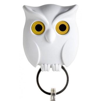 Wieszak na klucze Sowa biały 10195-WH kod: QL10195-WH