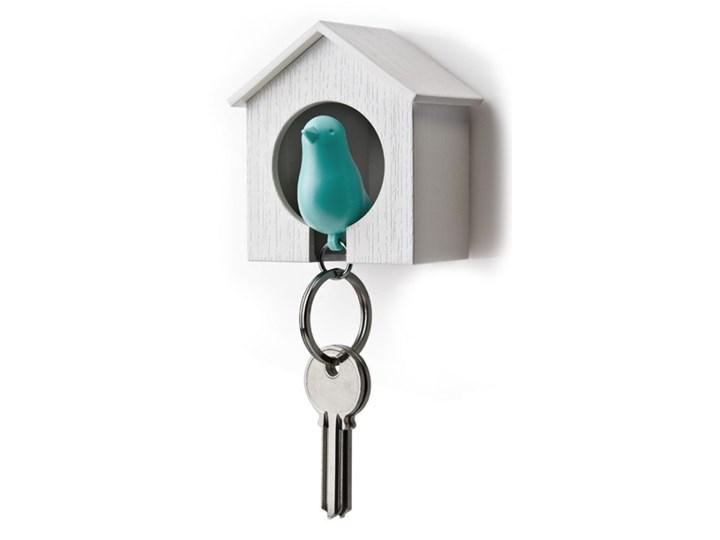 Wieszak na klucze Budka biało-niebieska 10091-WH-BU kod: QL10091-WH-BU