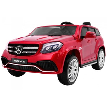Samochód na akumulator Mercedes Benz GLS 63 AMG 4WD Lakierowany Czerwony kod: PA.HL228.EXL.CR