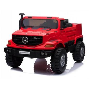 Samochód na akumulator  Mercedes-Benz Zetros Czerwony kod: PA.BDM0916.CR