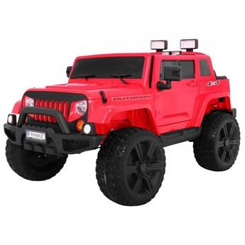 Samochód dla dzieci Mighty Jeep 4x4 Czerwony kod: PA.HL-1668.CR