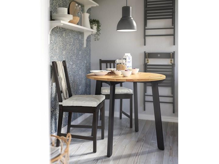 GAMLARED / STEFAN Stół i 2 krzesła Kolor Brązowy