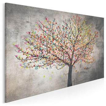 Małe szczęścia - nowoczesny obraz na płótnie - 120x80 cm