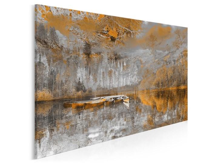Tchnienie słońca - nowoczesny obraz na płótnie - 120x80 cm Wzór Kwiaty Wykonanie Wydruk cyfrowy