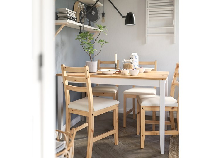 LERHAMN Stół i 4 krzesła Kategoria Stoły z krzesłami Kolor Brązowy