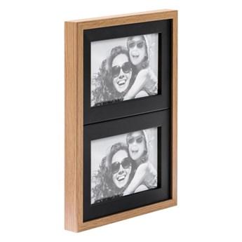 Galeria na zdjęcia Duo 2 x (10 x 15 cm) czarna dąb
