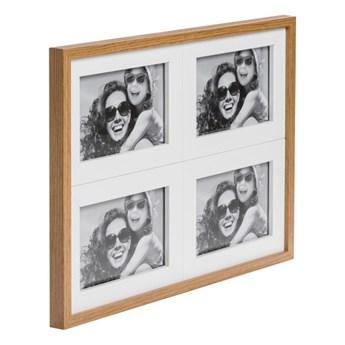 Galeria na zdjęcia Duo 4 x (10 x 15 cm) biała dąb