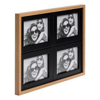 Galeria na zdjęcia Duo 4 x (10 x 15 cm) czarna dąb