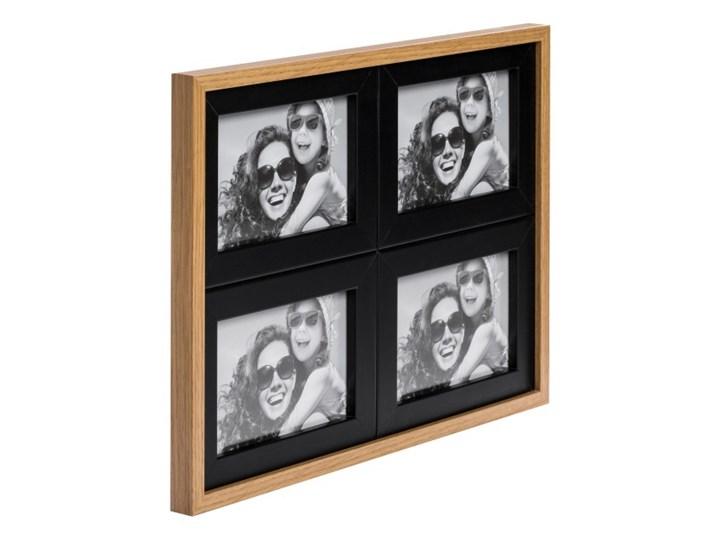 Galeria na zdjęcia Duo 4 x (10 x 15 cm) czarna dąb Drewno Multiramka Pomieszczenie Sypialnia