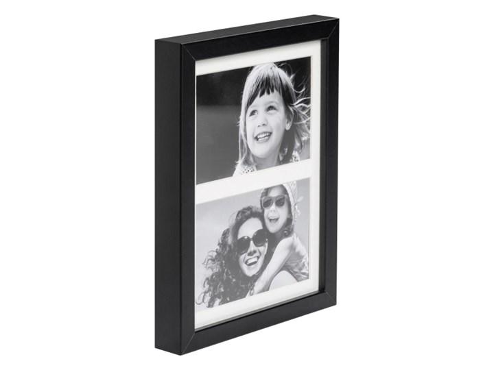 Galeria na zdjęcia Simple 2 x (10 x 15 cm) czarna Kategoria Ramy i ramki na zdjęcia Drewno Multiramka Pomieszczenie Sypialnia