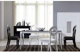 Zestaw mebli - stół LUIGI A 80x160 i krzesła LUIGI - WYSYŁKA GRATIS ! - Profesjonalna Obsługa - Najniższe Koszty