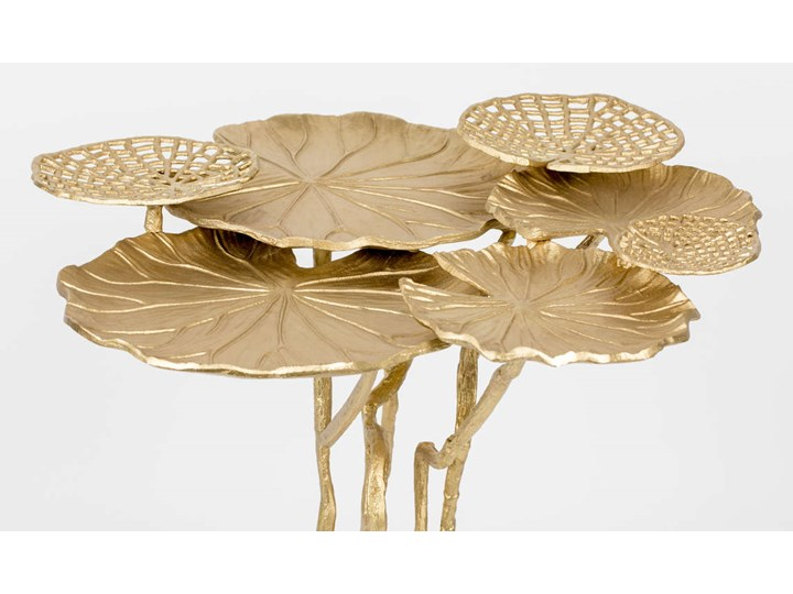 Stolik Lily Multi złoty Wysokość 65 cm Rodzaj nóg Gięte Kategoria Stoliki i ławy