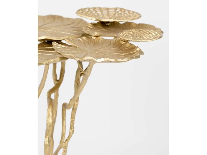 Stolik Lily Multi złoty Wysokość 65 cm Rodzaj nóg Gięte